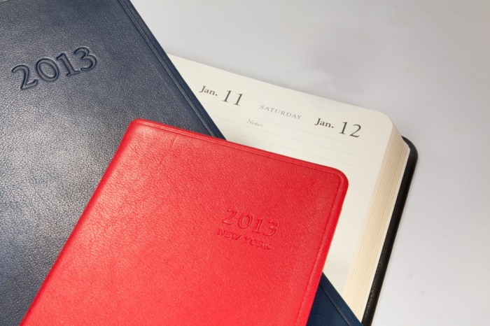 2013 Traditional Leather Datebooks