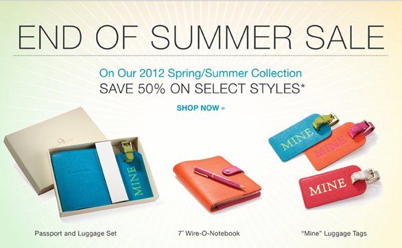 Graphic Image End of Summer Sale