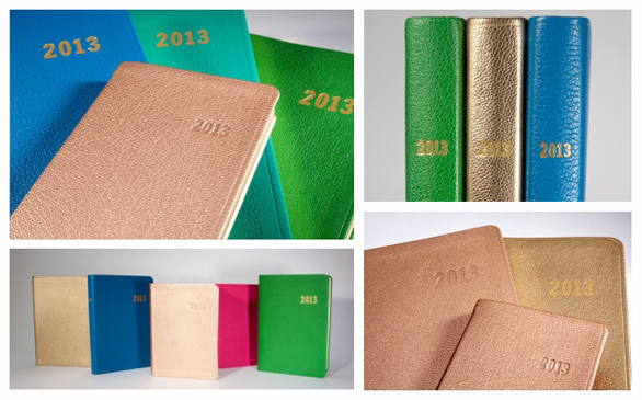 Custom Bergdorf Goodman 2013 Datebooks