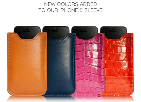 New iPhone 5 Case colors added!