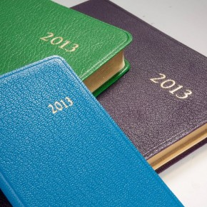 Leather 2013 Datebooks from Graphic Image