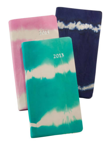 Tie-Dye Leather Calendars