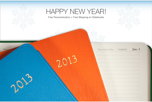 2013 Leather Calendars and Planners