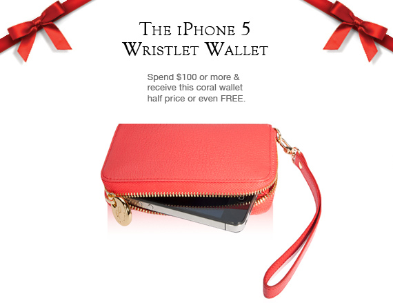 Free Leather iPhone 5 Wallet