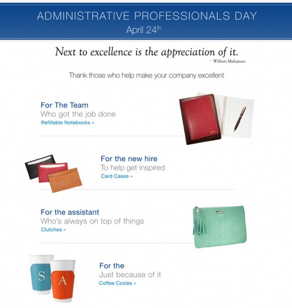 Administrative Professionals Day Gifts